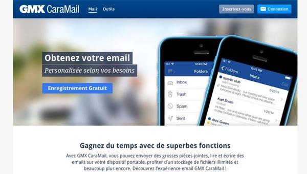 gmx boite mail