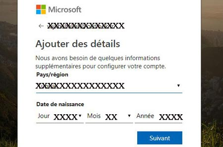 Boite mail windows live