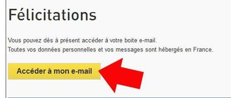 La poste mail