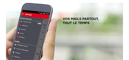 Configurer iphone pour mail SFR