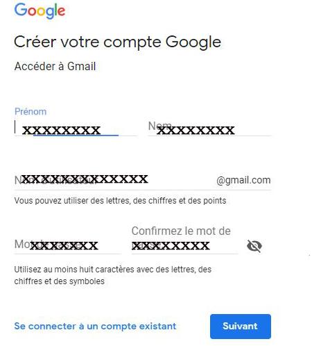 Boite gmail sign in