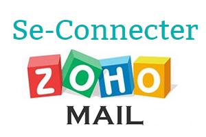 connexion à zoho mail