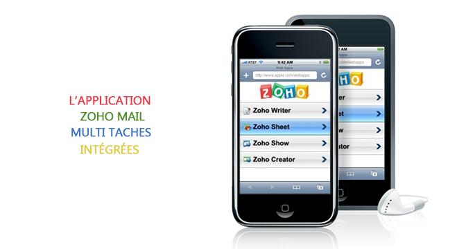 L'application Zoho Mail Multi fonctionnelle