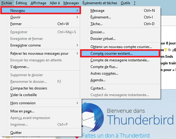 thunderbird imap hotmail