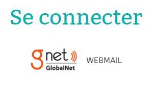 Se connecter à GlobalNet webmail