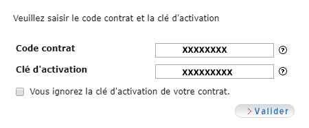 Activer une adresse mail