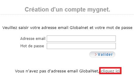 Étapes de création de votre webmail