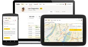Application mobile Yandex