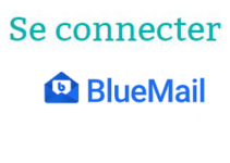 Se connecter à Blue Mail