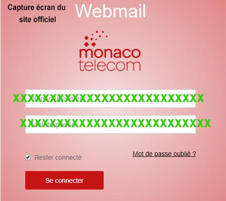Monaco telecom Webmail connexion