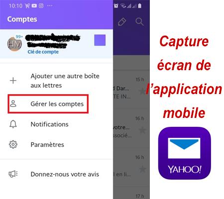 Modifier mon mot de passe sur l'application mobile Yahoo!