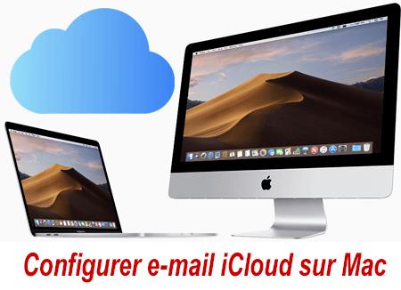 Cofigurer e-mail iCloud sur Mac