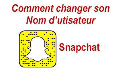 Comment changer le nom d'utilisateur sur Snap?