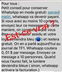 est-ce que whatsapp va devenir payant ?